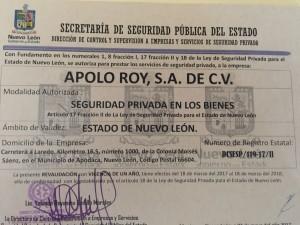 permiso 2017 del estado